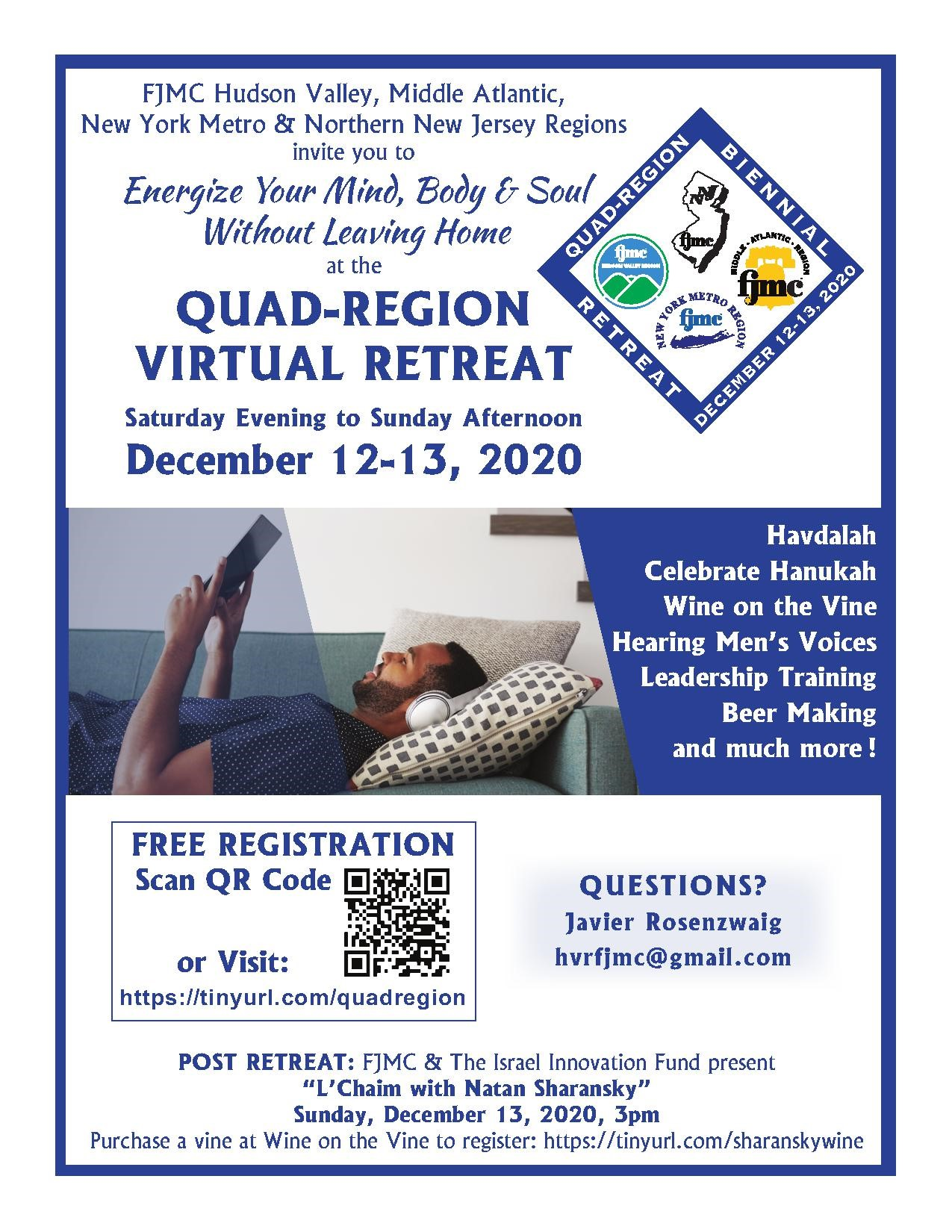 Quad Region Retreat 2020